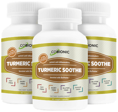 CoBionic Turmeric Soothe - 3 Bottles