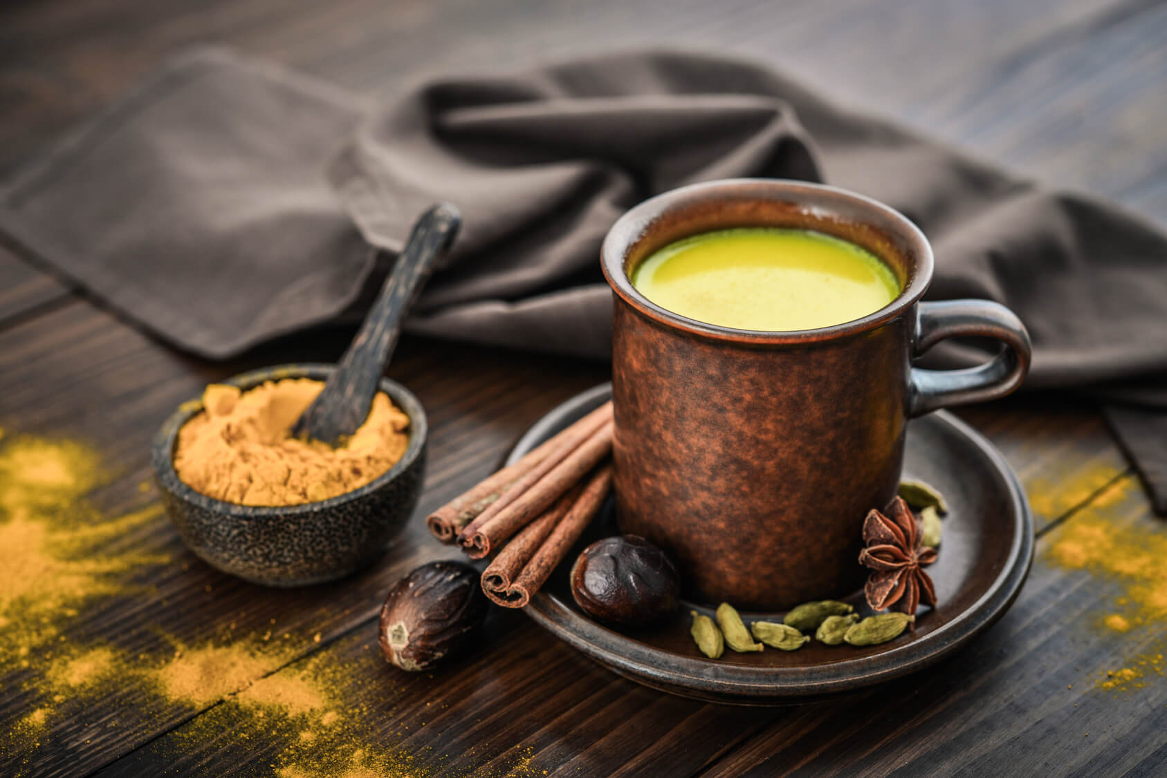 Turmeric Milk - Indian Ceremony Compressed