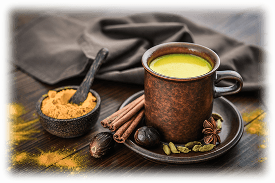 Turmeric Milk - Indian Ceremony